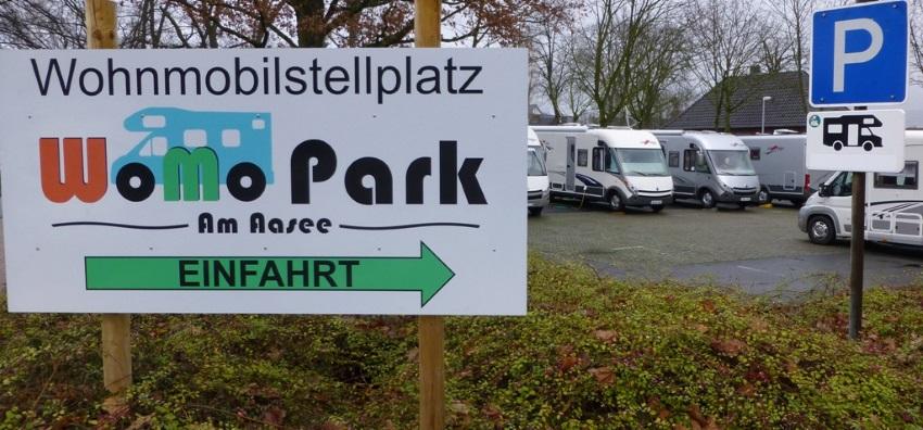 Wohnmobil Stellplatz Aasee Bocholt