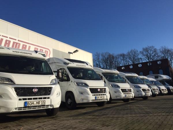 Die MeiseReise® Fahrzeug Flotte 2017
