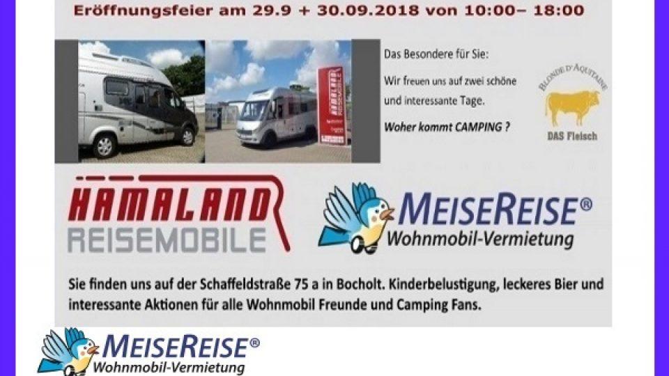 MeiseReise Hamaland Eröffnung