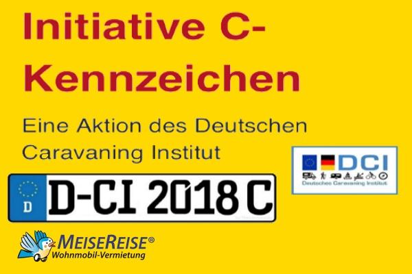 C-Kennzeichen MeiseReise Wohnmobil Vermietung