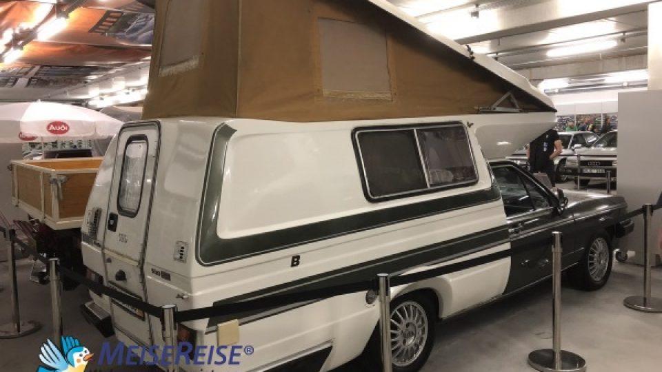 MeiseReise® Historischer Camper auf Audi Basis