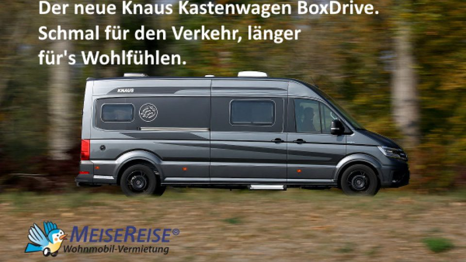 MeiseReise Wohnmobil-Knaus-Boxdrive-First-Edition