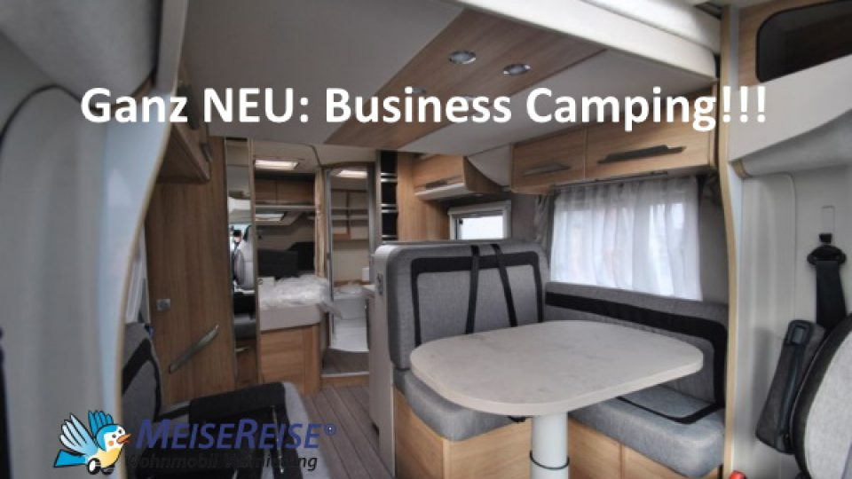 MeiseReise® Wohnmobil mieten Business Camping