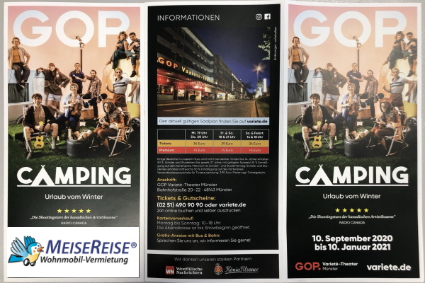 MeiseReise® Camping GOP Theater