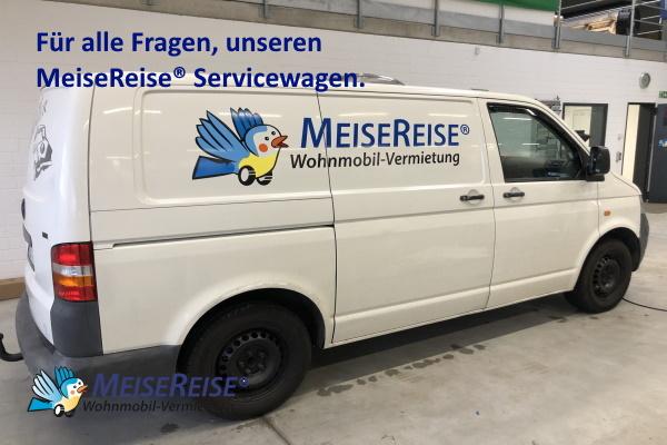 MeiseReise® Wohnmobil Servicewagen